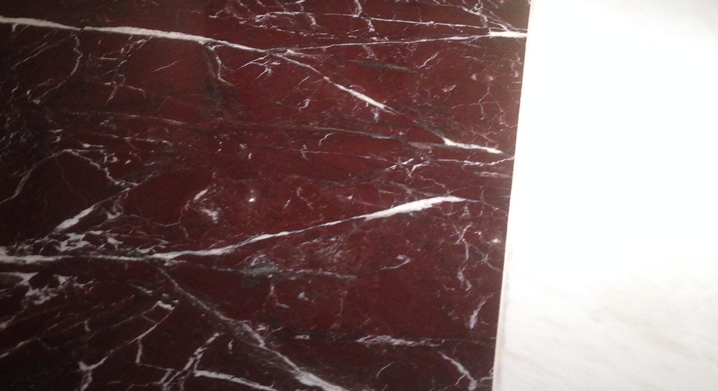 Pavimento Rosso Lucido : Pavimento a tappeto rosso lepanto lucido domus petra artigiani